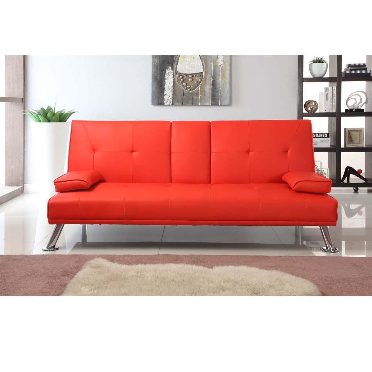 Yamba Sofa Bed - Red