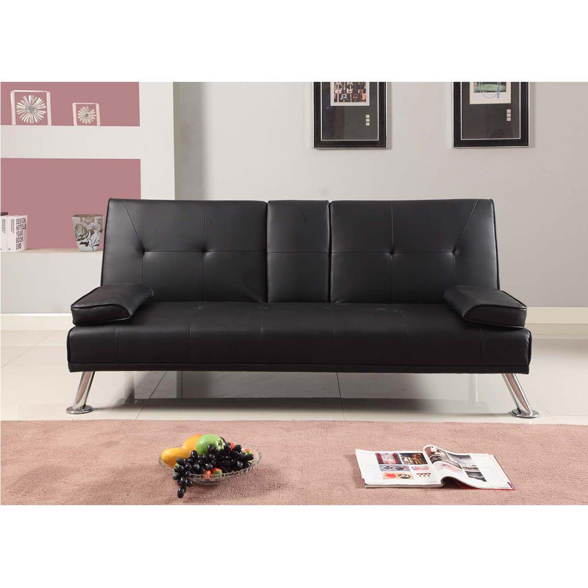 Yamba Sofa Bed - Black