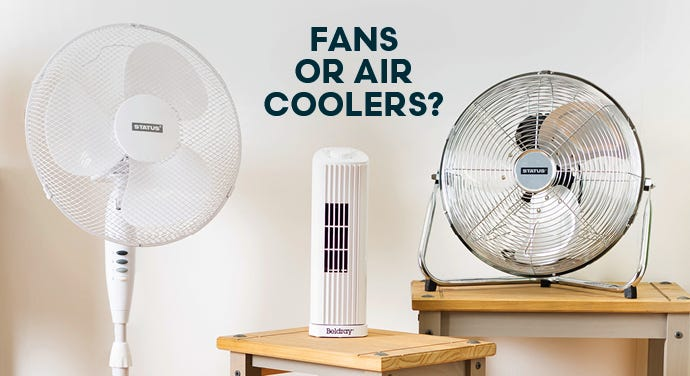 Fans Vs Air Coolers: Which Is Best For Me?
