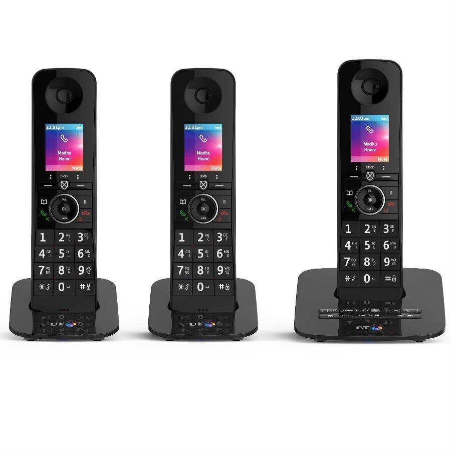 best home phones premium cordless bt trio