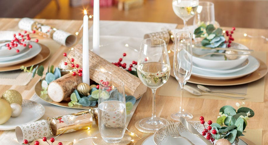 Christmas Table Decoration Ideas and Dinner Prep