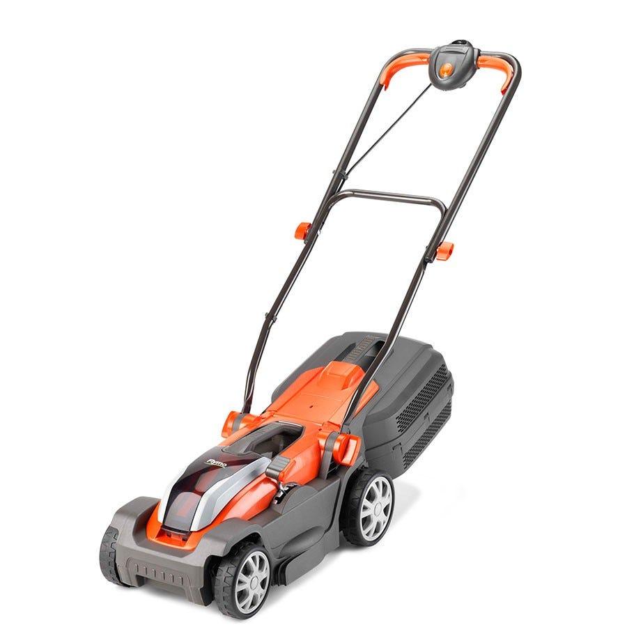 flymo cordless lawnmower