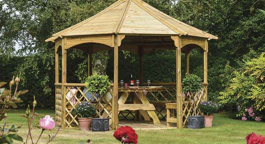 10 Gazebo Decoration Ideas For Your Garden