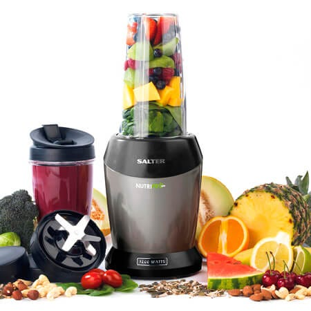 The Salter 1200W Nutri Pro Blender makes healthy smoothie-making a dream