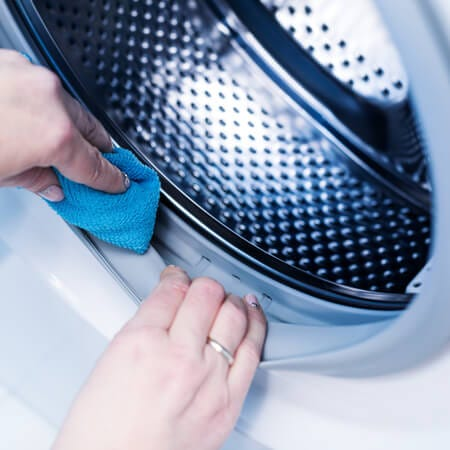how to clean washing machines seal