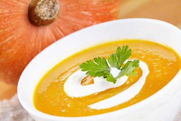 Pumpkin Soup Recipe (Serves 4-6)