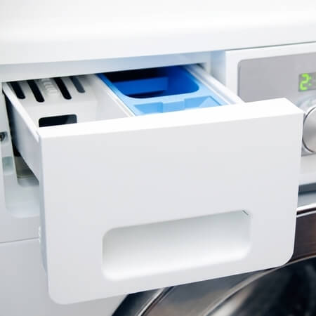 smelly washing machine drawer new
