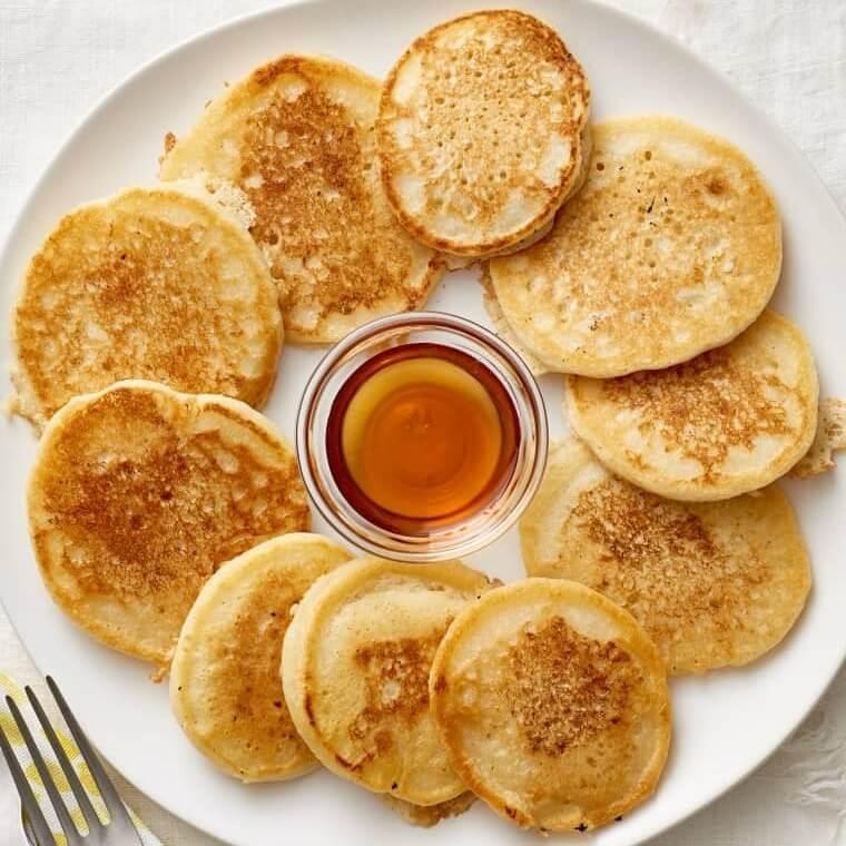 eggless vegan pancake
