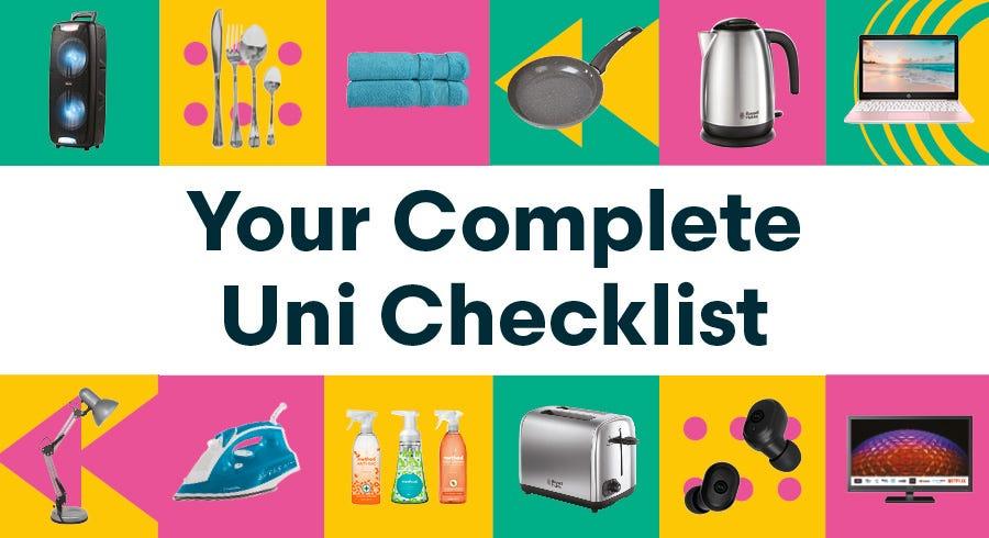 What to Take to Uni: A Complete Uni Checklist