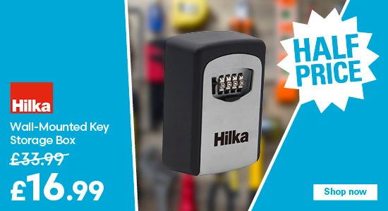 Get half price on the Hilka Wall-Mounted Key Storage Box