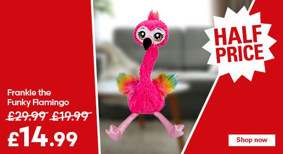 Save on the Frankie the Funky Flamingo