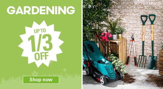 Get up to a third off in our garden special offers!