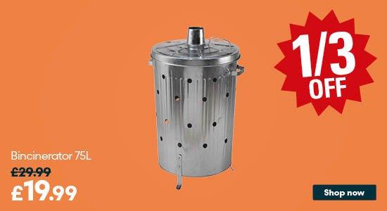 Save on Bincinerator 75L