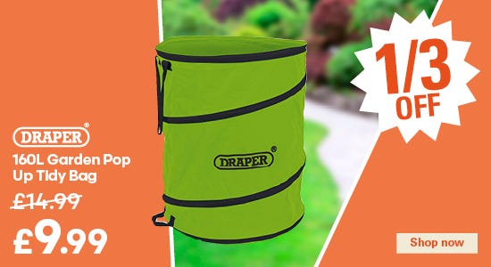 Save a third on your draper tidy bag