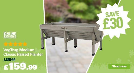 Save £30 on your VegTrug Planter