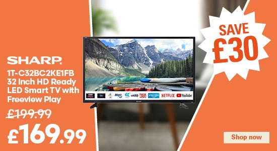 Save £30 on your sharp TV