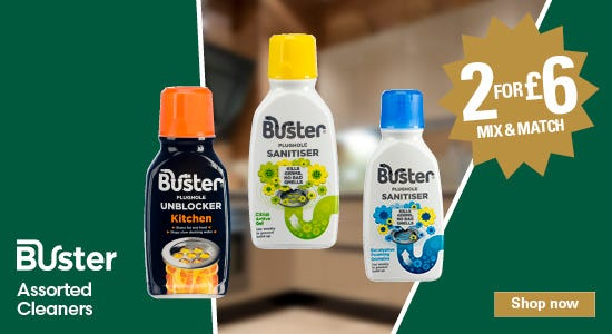 Get 2 for £6 on your buster products!
