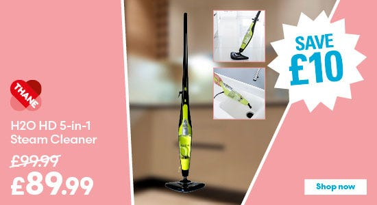 Save £10 on Thane H2O HD 5-in-1 Steam Cleaner