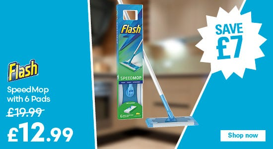Save £7 on your flash speedmop