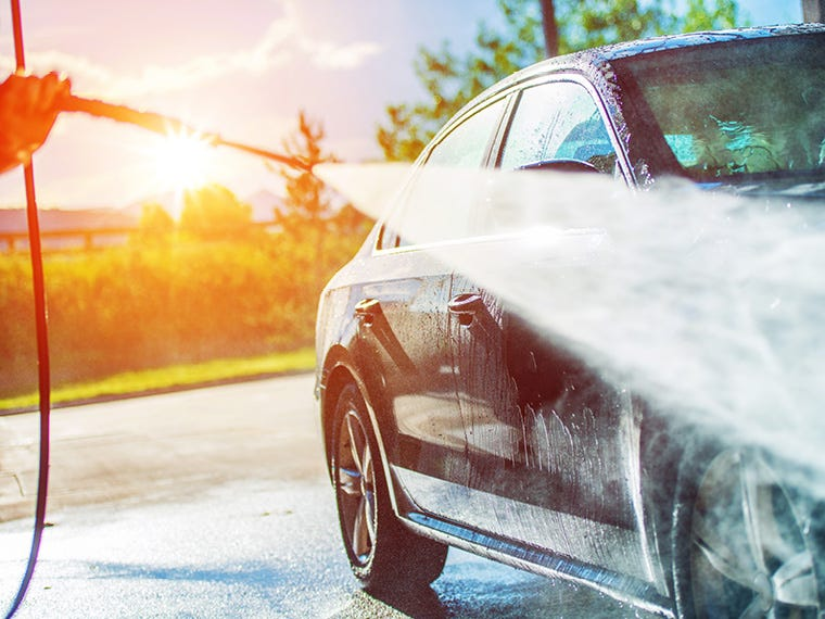 Car Cleaning in Household & Cleaning