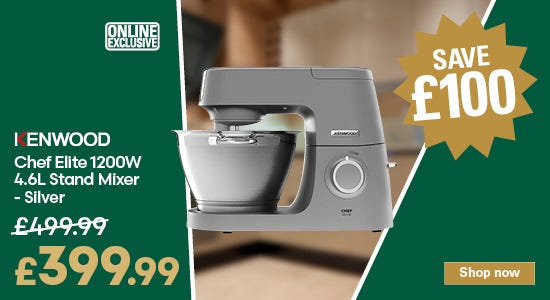 Save £100 on this kenwood stand mixer