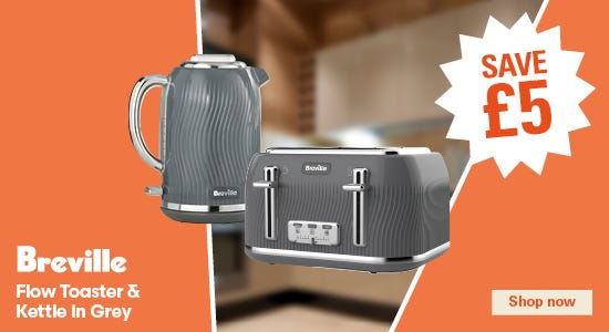 Save on your breville toasters & kettles