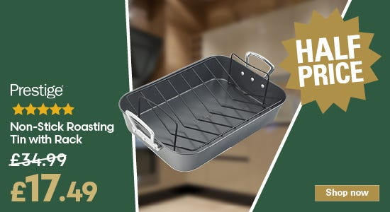 Save on your prestige roasting tin