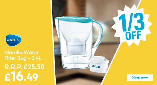 Save on BRITA Marella Water Filter Jug