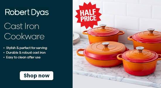 Cast Iron Cookware Savings