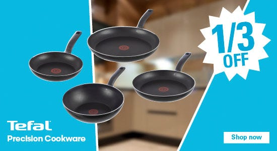 1/3 off tefal precision cookware