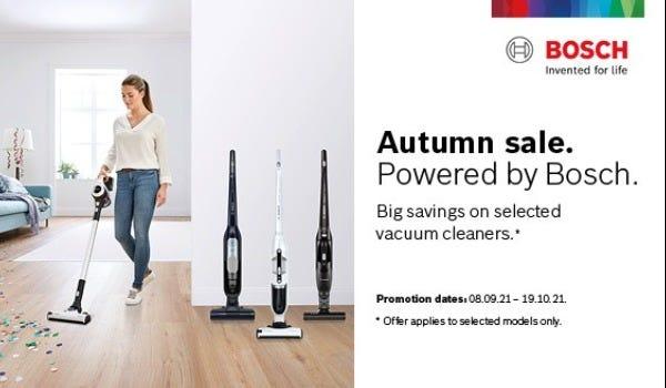 Bosch Floorcare Autumn Sale