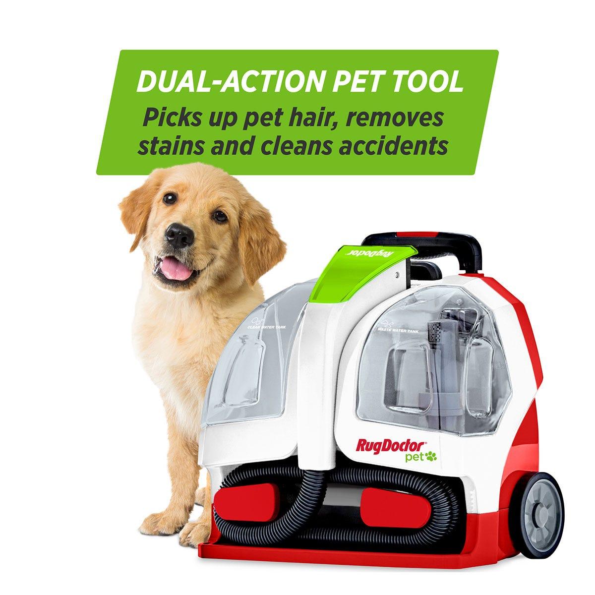 Dual action pet tool