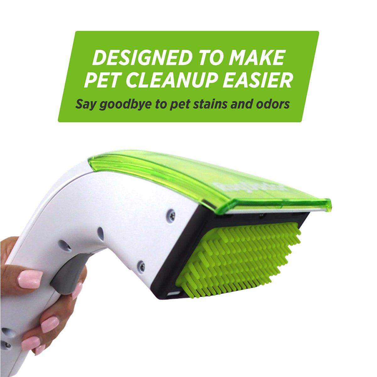 Designed to make pet clean up easier