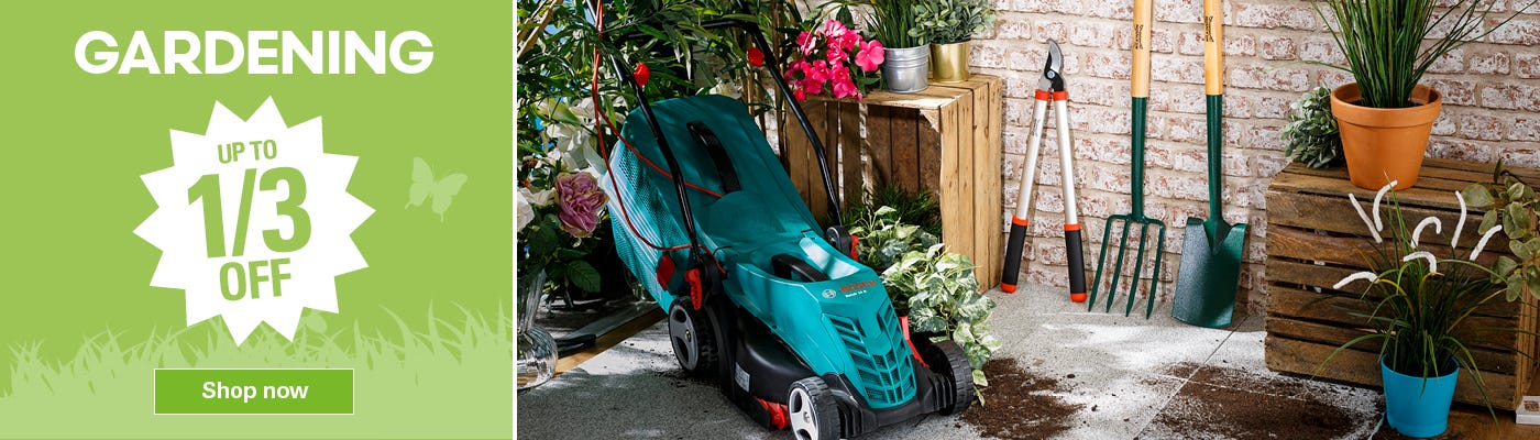 Shop Our Gardening Deals Here
