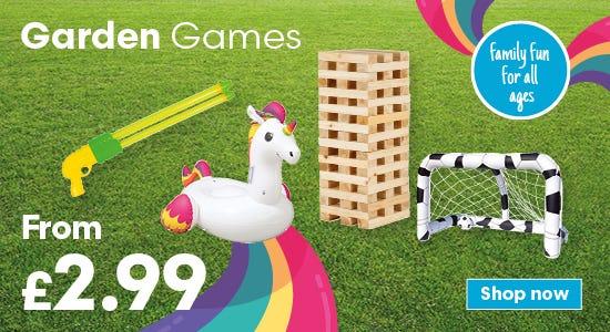 Garden games for family fun!