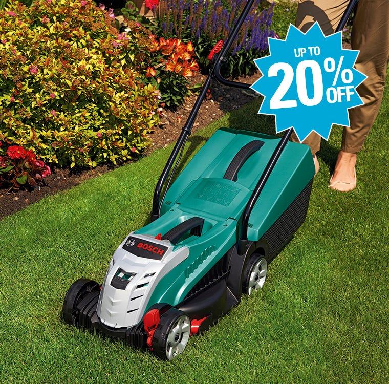 Garden Power Up To 20% Saving