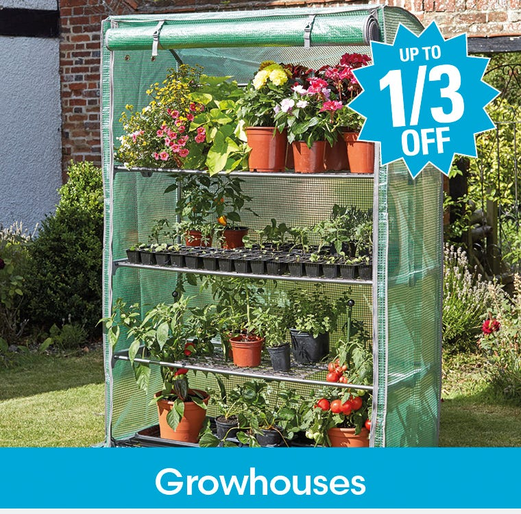 Get up to a third off growhouses now