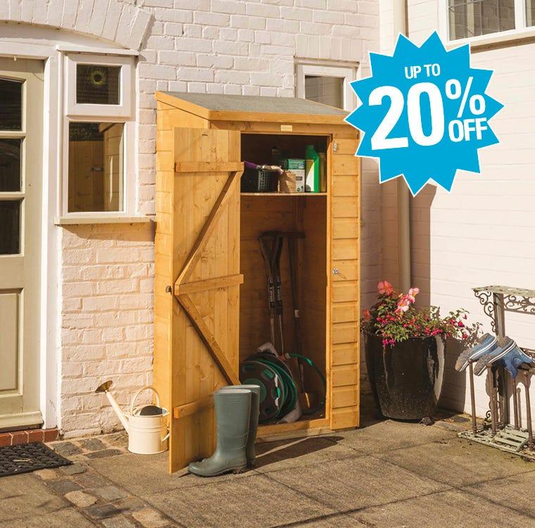 Garden Storage Up To 20% Off