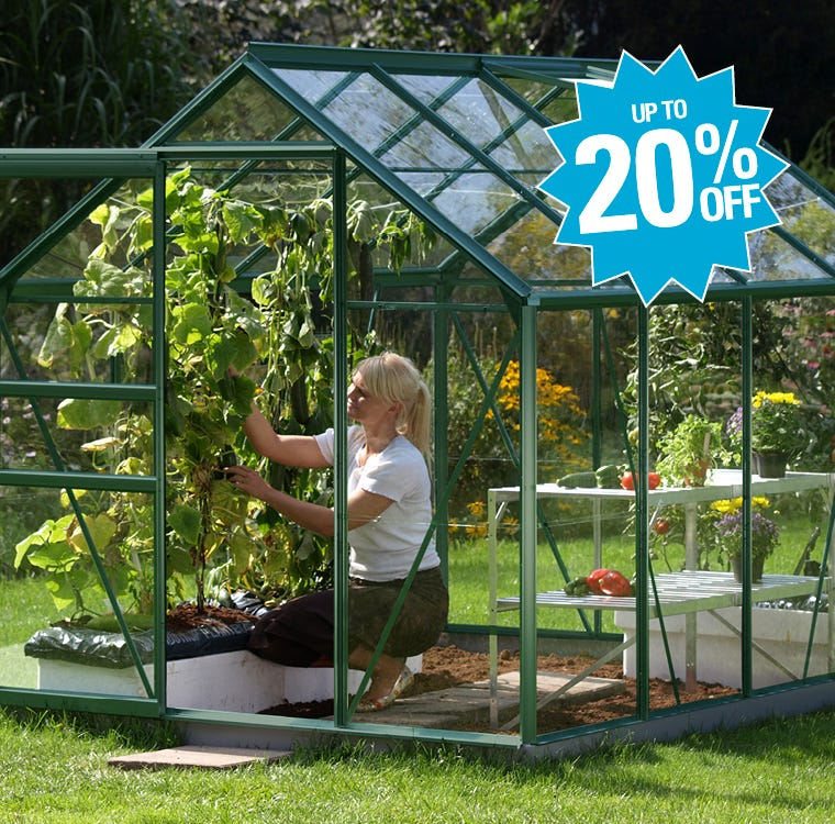 Garden Greenhouses Up To 20% Off