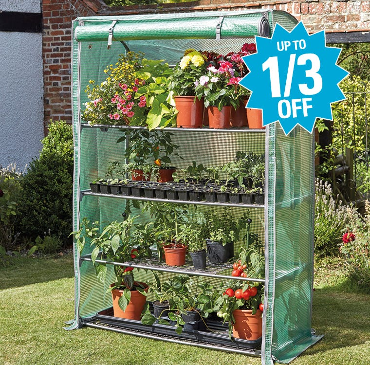 Garden Growhouses Up To A Third Off
