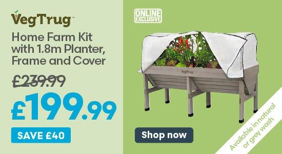 Save £40 on Vegtrug Home Farm Kit