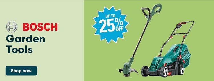 Get 25% Off Bosch Garden Tools