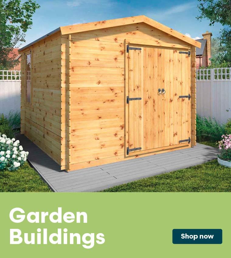 Garden Buildings range