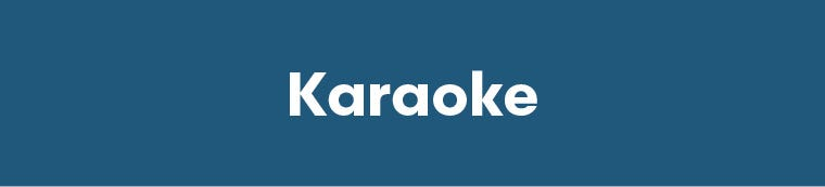 Karaoke Gifts