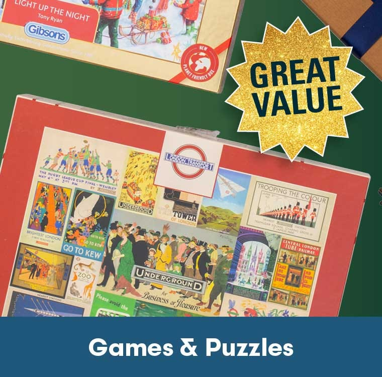 games & puzzles great value