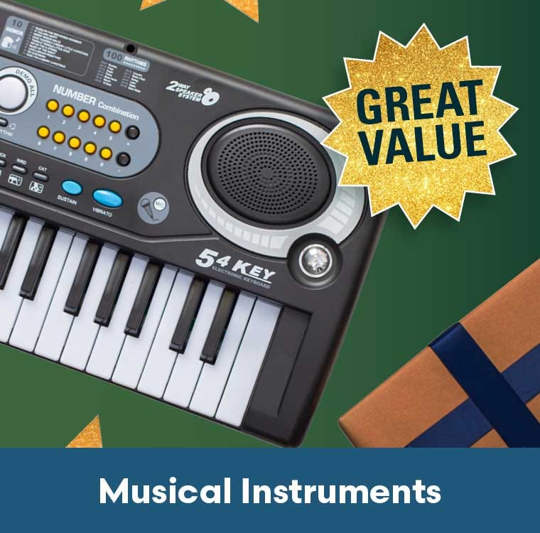 Musical Instruments great value
