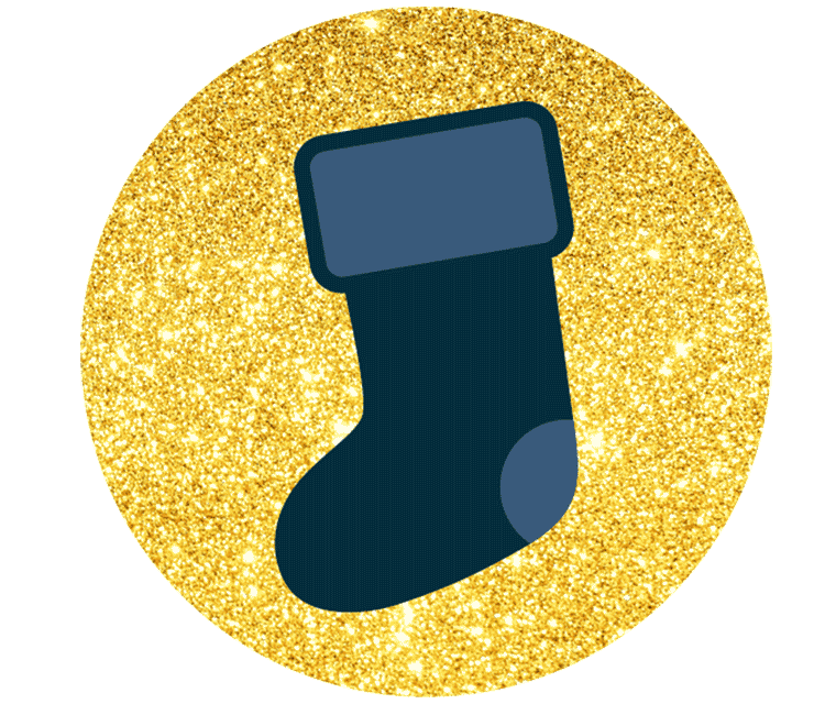 Stocking fillers icon
