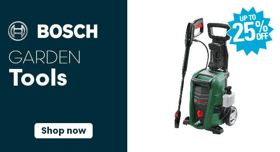 Save on Bosch Garden Tools