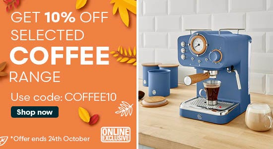 Use code COFFEE10 for 10% off