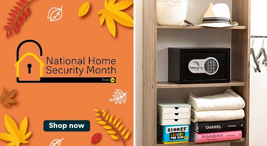 National Home Security Month Shop Now